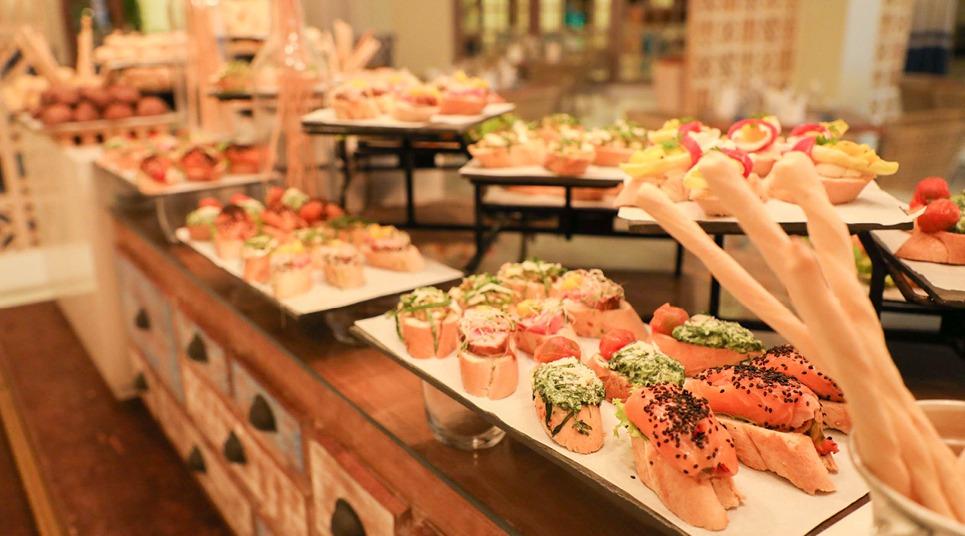 O restaurante Sumptuori oferece culinária japonesa à la carte