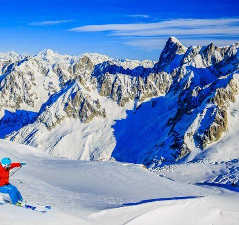 Esqui nos Alpes Franceses