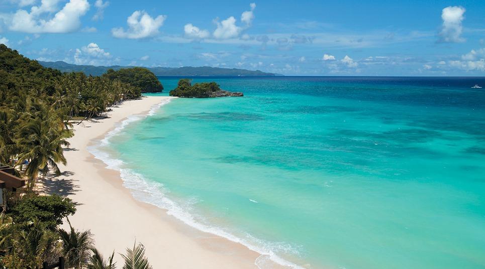 Praia nas Filipinas
