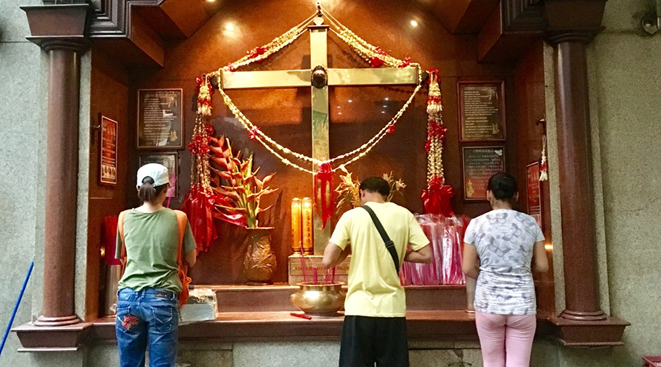Templo religioso em Binodo