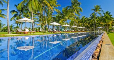 Piscina do Txai Resort Itacaré