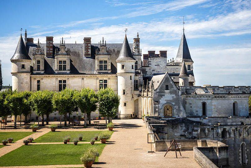 Castelo medieval de Amboise