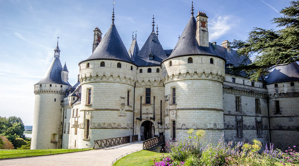 Castelo no Vale do Loire