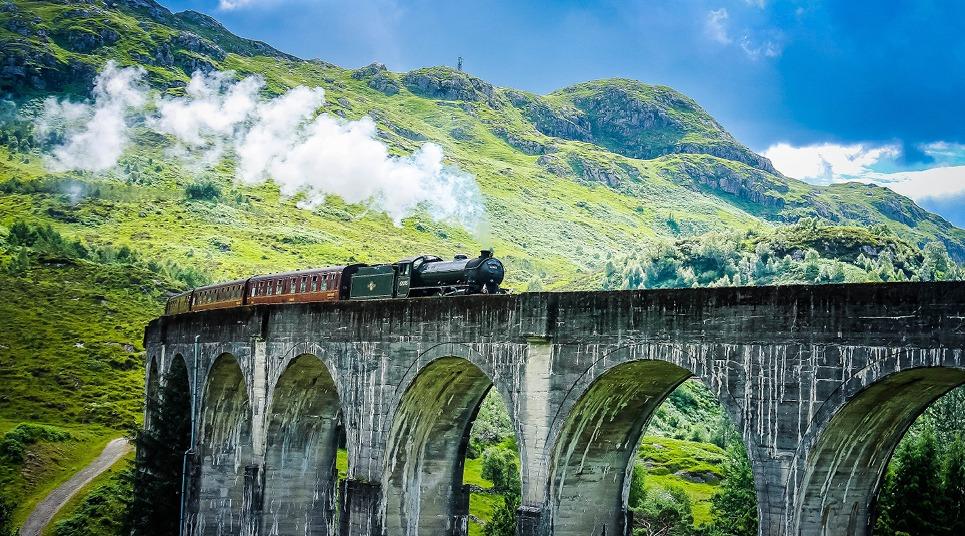 O Jacobite Steam Train