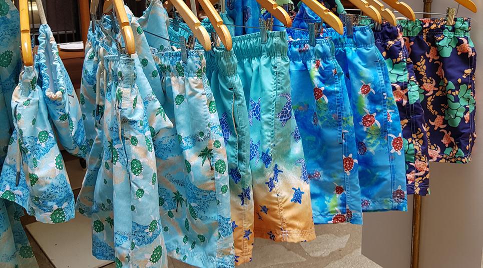 Coleção de shorts lançada pelo Txai em parceria com a loja Shorts Co