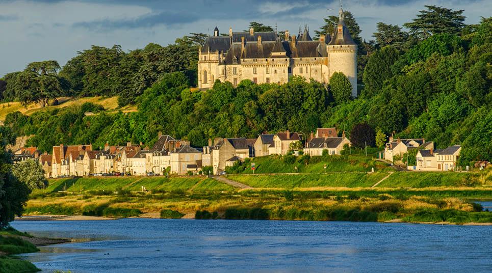 A região do Vale do Loire tem lindas paisagens