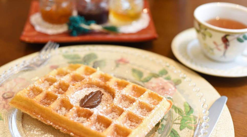 Que tal um delicioso waffle?