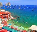 Praia de Marina Piccola, em Capri
