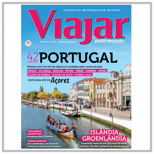 edição de Portugal Revista Viajar pelo Mundo