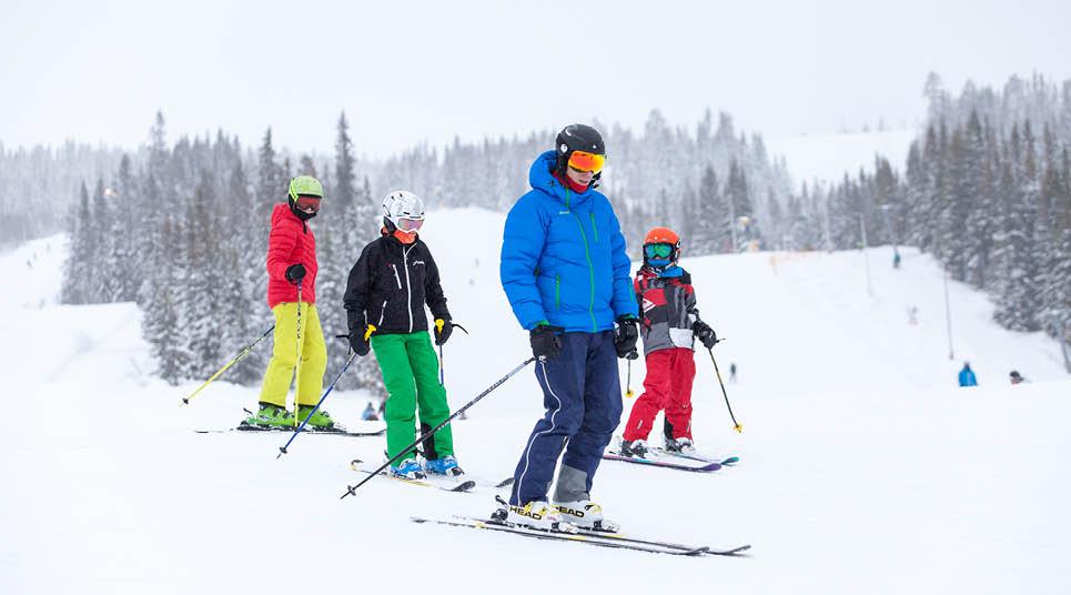 Esqui na Noruega