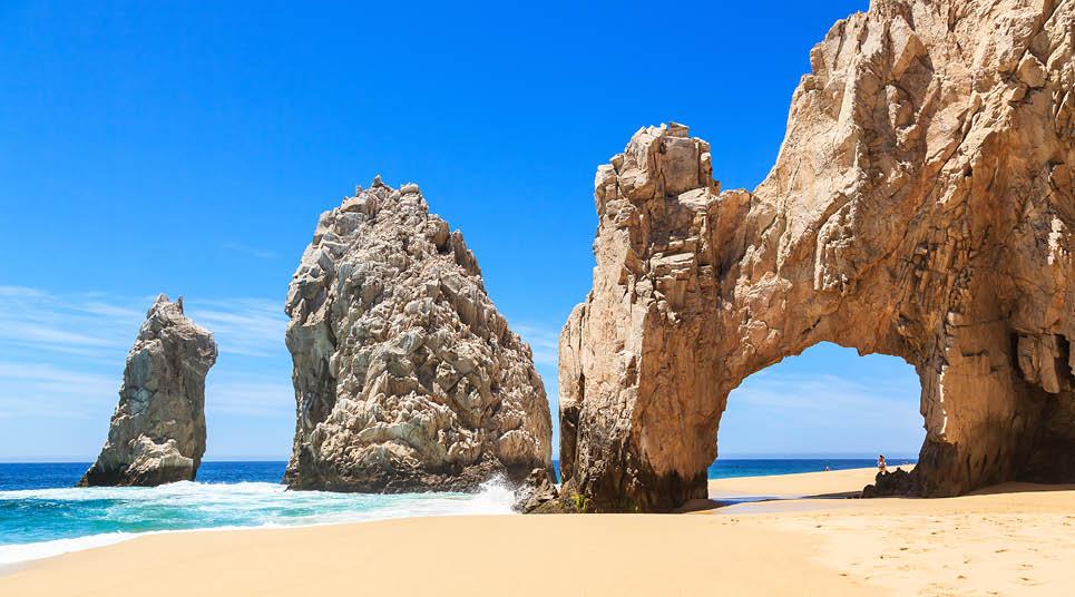Praia em Los Cabos