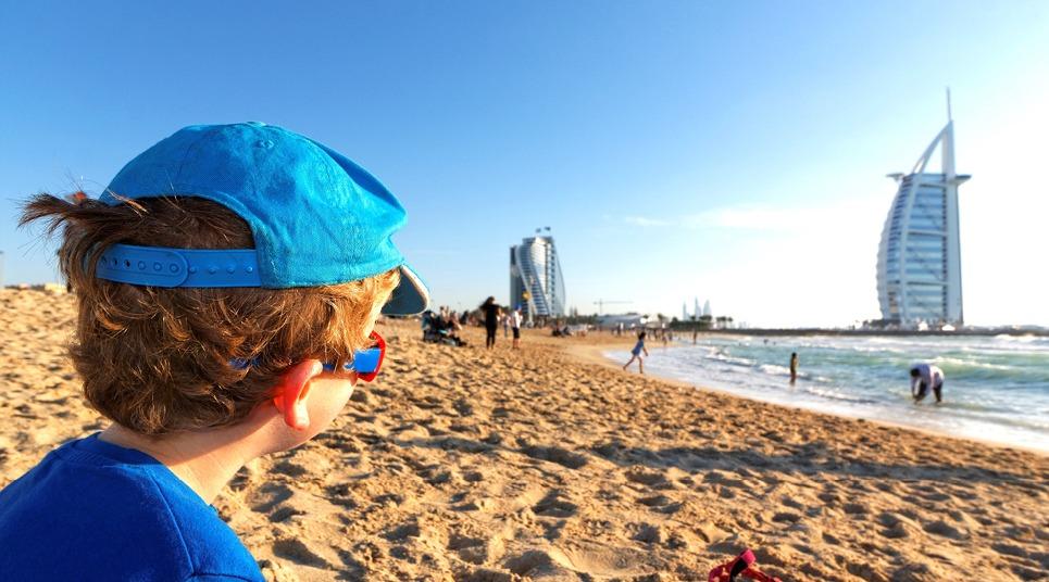 Que tal pegar uma praia com os pequenos em Dubai?