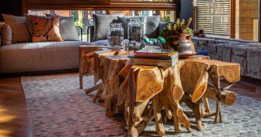 Interior do Wood Hotel