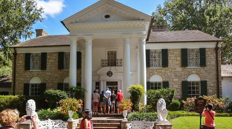 Graceland, casa de Elvis Presley em Memphis