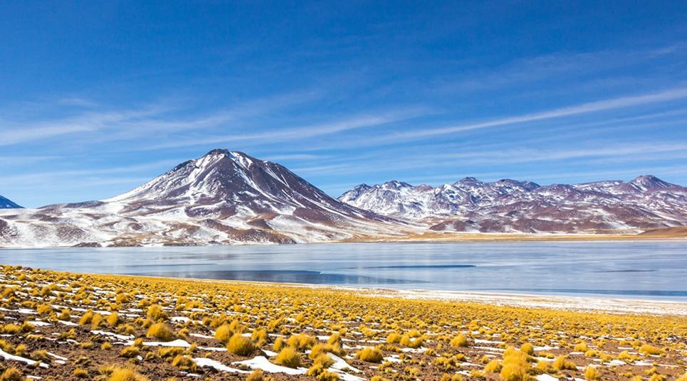 Laguna Miscanti, no Deserto do Atacama
