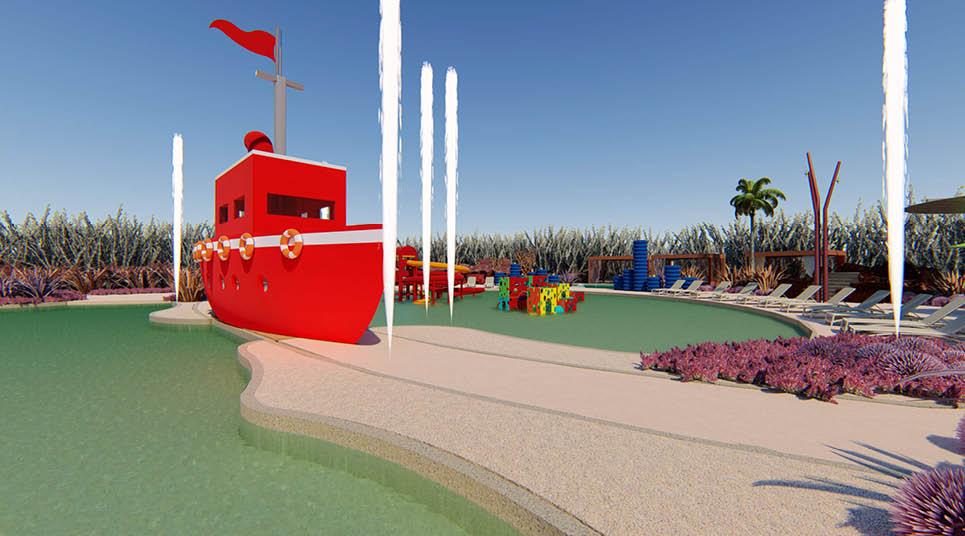 Barco do Pratagy Acqua Park