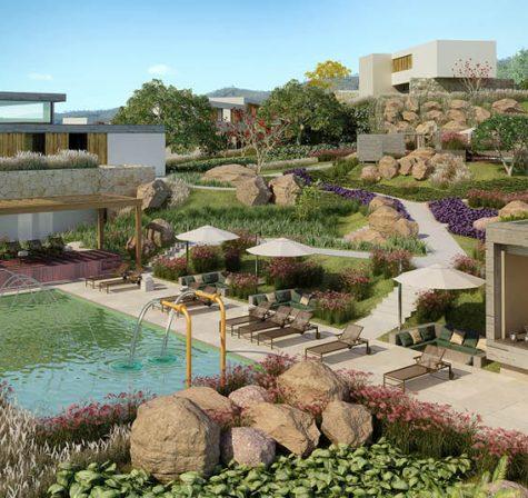 As residências estarão localizadas em meio à natureza