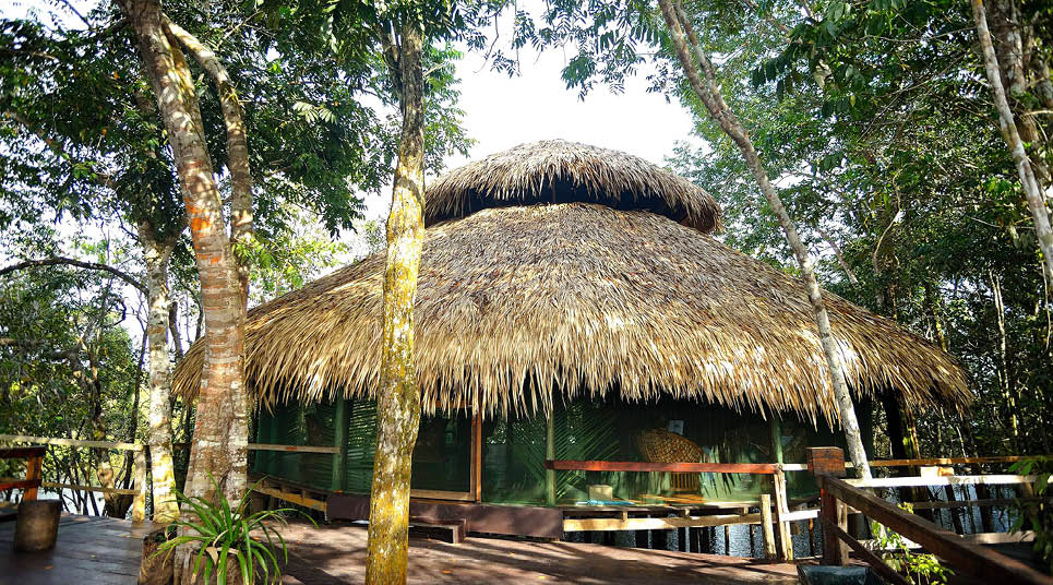 Recepção do Juma Amazon Lodge