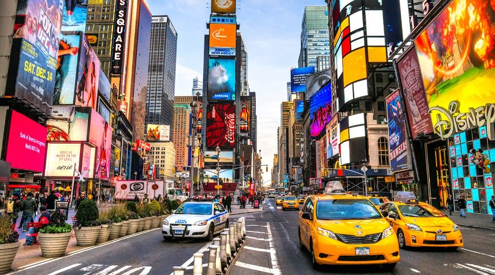 Times Square, em Nova York