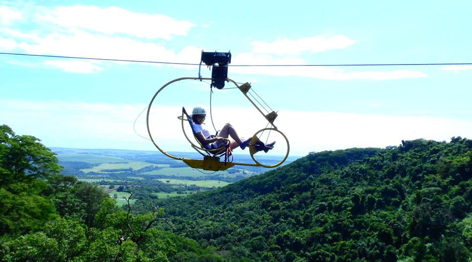 Super bike do Ecoparque Viva Brotas