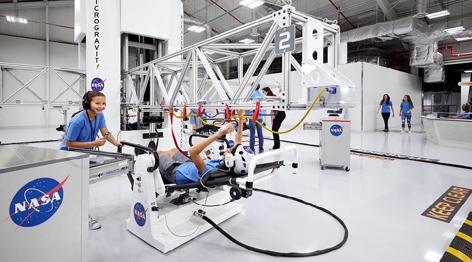 Simulador de microgravidade