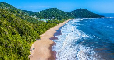 Praia em Balneário Camboriú