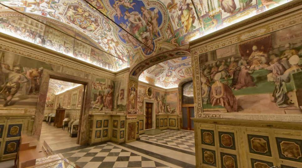 Tour virtual pela Capela Sistina