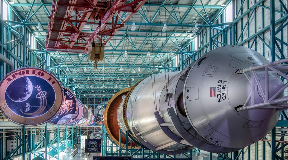 O foguete Saturn V