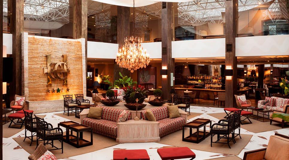 Lobby do Casa Grande Hotel