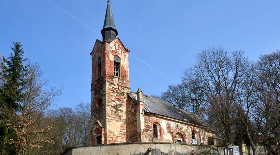 A Igreja de São Jorge, em Luková