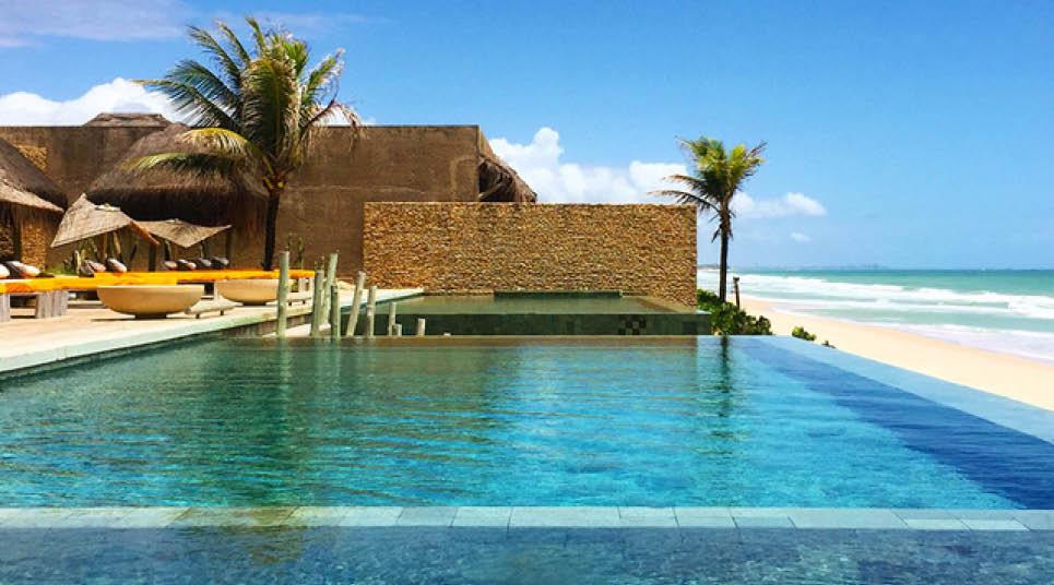 Piscina do Kenoa Resort