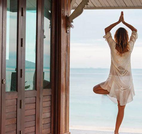 Práticas de bem-estar e yoga