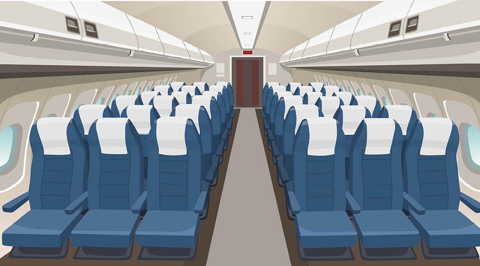 Interior de aeronave