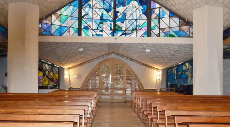 Interior da Capela de Nossa Senhora de Fátima