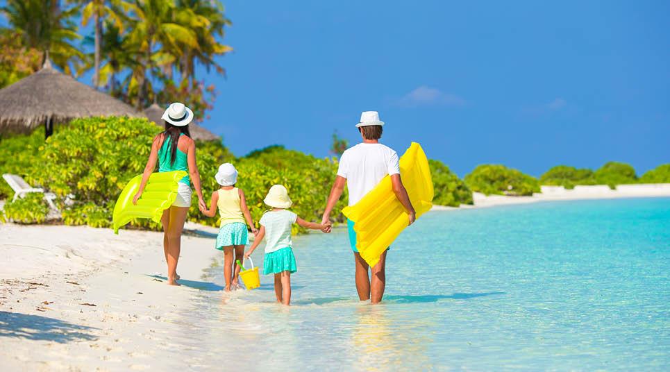 Família de férias