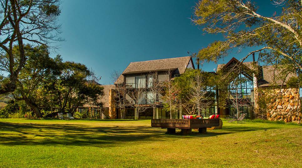 Área externa do Botanique Hotel & Spa