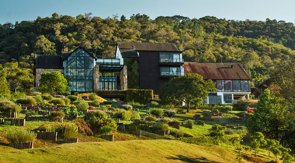 Fachada do Botanique Hotel & Spa