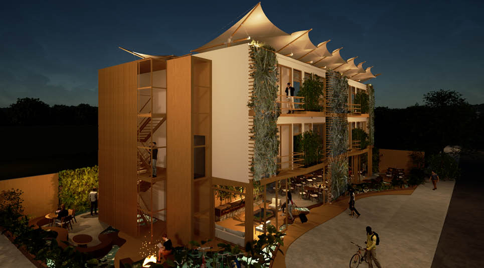 Projeto vencedor - Hotel Van der Werf - Patricia O'Reilly