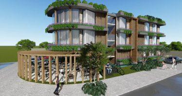 Projeto vencedor - Hotel Van der Werf - Louise Sander e Dani Guardini