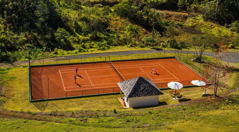 Quadra de tênis do Botanique