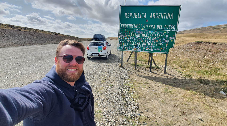 A Argentina foi o primeiro país da aventura