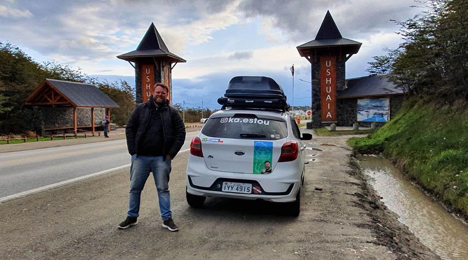 Gustavo em Ushuaia