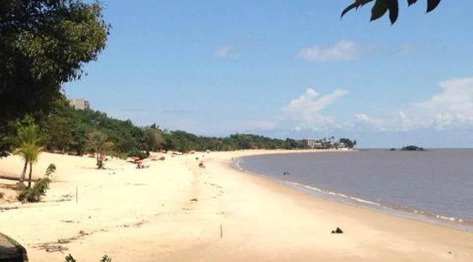 Praia em Mosqueiro