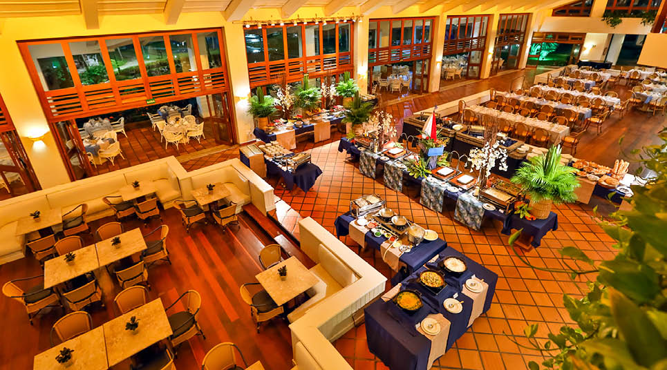 Restaurante do resort