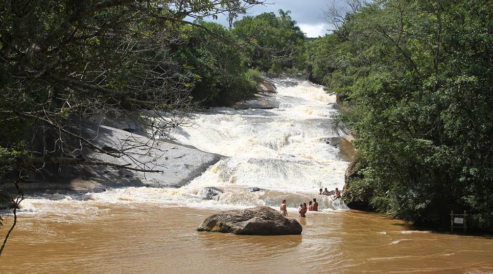Cachoeira no Parque dos Sonhos