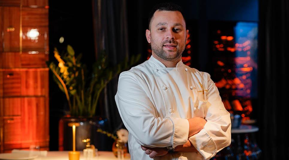 O chef italiano Antonio Salvatore