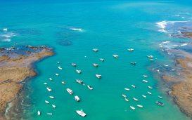 Praia do Forte, no litoral norte da Bahia