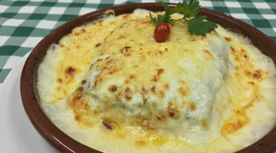 Prato do Restaurante Di Napoli