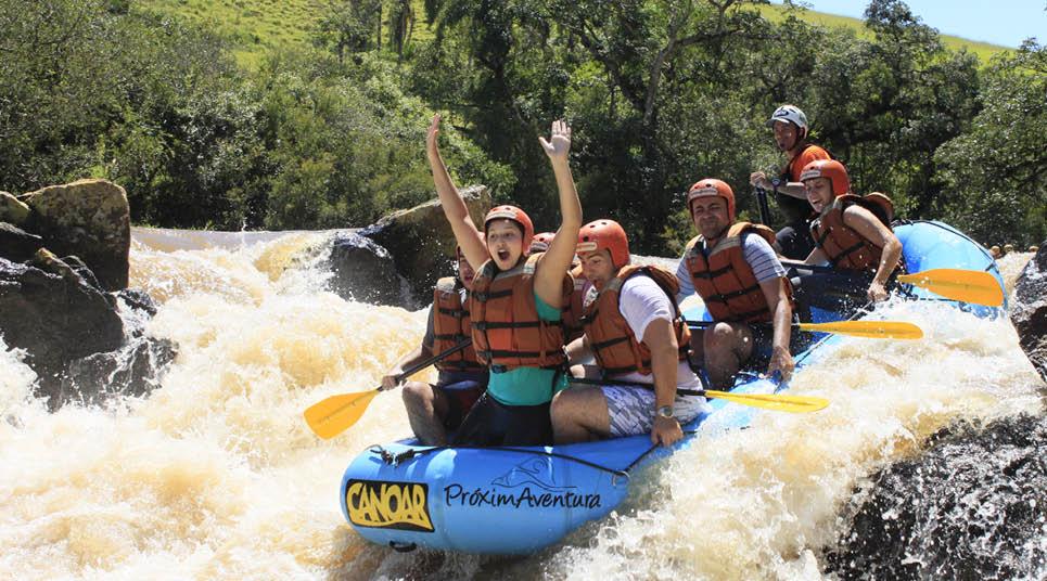 Rafting em Socorro