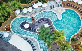 Piscina do Thermas de Olímpia Resorts By Mercure